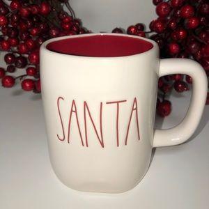New Rae Dunn Christmas Santa Mug